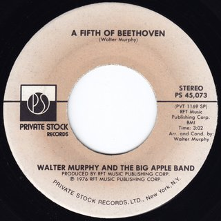 Walter Murphy And The Big Apple Band -  A Fifth Of Beethoven