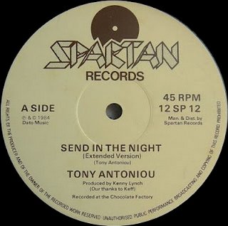 Tony Antoniou - Send In the Night (Extended Version)