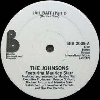 The Johnsons Feat. Maurice Starr - Jail Bait (Part I)