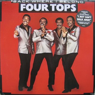 Four Tops ‎- Back Where I Belong