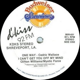 Clifton Williams / Mystic Force - I Can't Get You Off My Mind