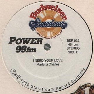 Marlena Charles - I Need Your Love