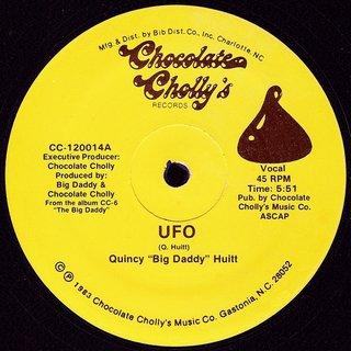 """Quincy """" Big Daddy """" Huitt - UFO"""