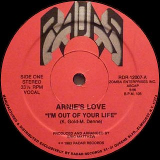 Arnie's Love - I'm Out Of Your Life (Vocal) (1000 ème Articles !!!)