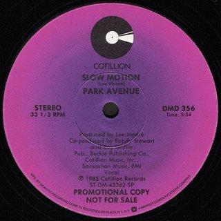Park Avenue - Slow Motion (Vocal)