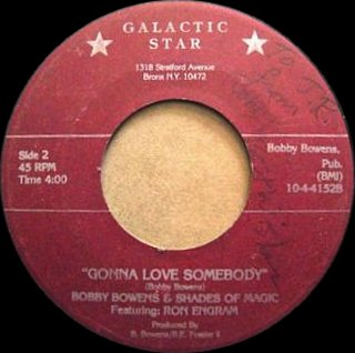 Bobby Bowens & Shades Of Magic Feat. Ron Engram - Gonna Love Somebody