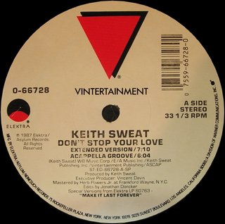 Keith Sweat - Don't Stop Your Love (Extended Version)