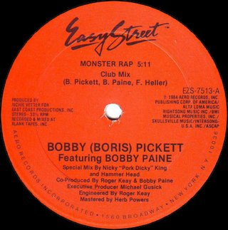 Bobby (Boris) Pickett Feat. Bobby Paine - Monster Rap (Club Mix)