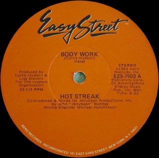 Hot Streak - Body Work (Vocal)