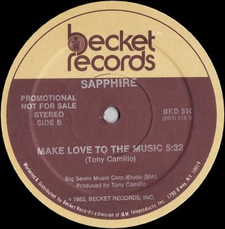 Sapphire - Make Love To The Music