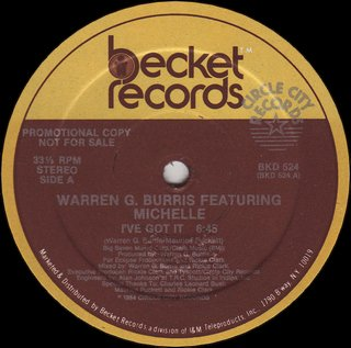 Warren G. Burris Feat. Michelle - I've Got It