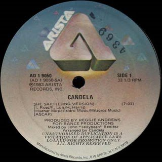 Candela - She Said (Long Version)