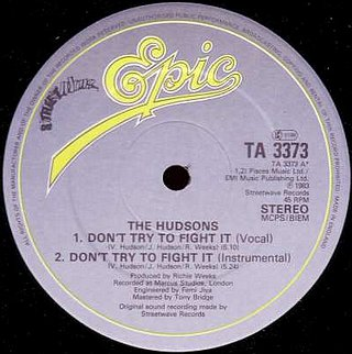 The Hudsons - Don't Try To Fight It ( Vocal )
