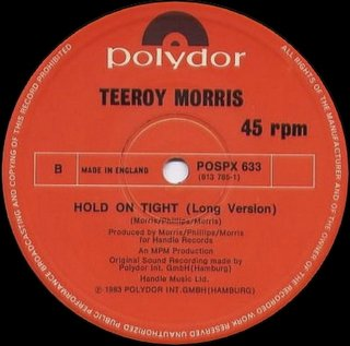 Teeroy Morris - Hold On Tight (Long Version)