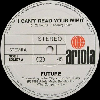 Future - I Can't Read Your Mind