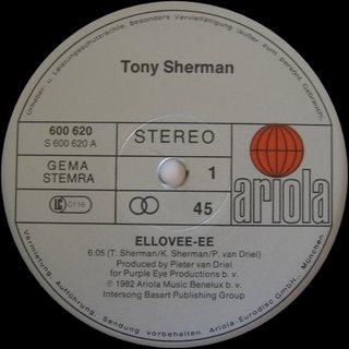 Tony Sherman - Ellovee-ee