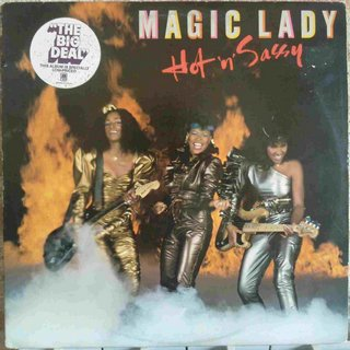 Magic Lady ‎- Hot 'N' Sassy