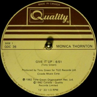 Monica Thornton - Give It Up