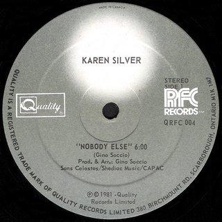 Karen Silver - Nobody Else