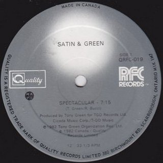 Satin & Green - Spectacular
