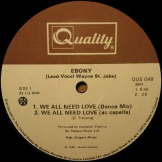 Ebony - We All Need Love (Dance Mix)