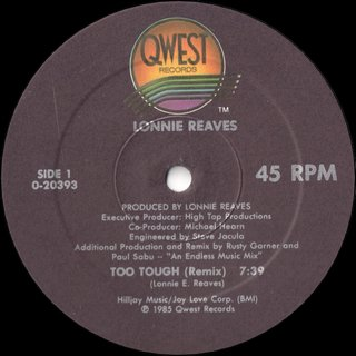 Lonnie Reaves - Too Tough (Remix)
