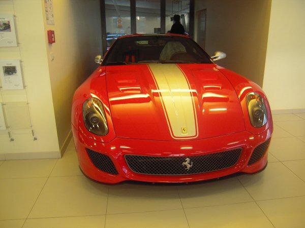 Ferrari 599 GTO Limited a 599 Exemplaire