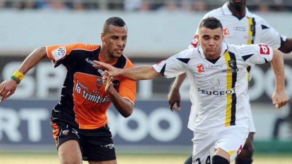 Shorts portés joueurs FC Lorient