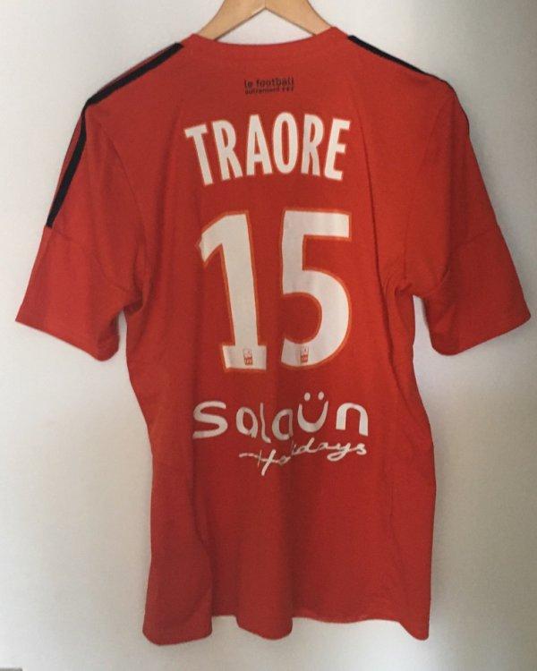 Maillot préparé Alain Traoré saison 2015-2016