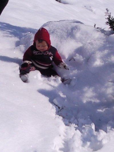 lol mohamed l'amineelle et Jeux dans la neige