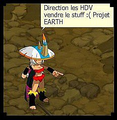 PROJET EARTH: Etape capture : Terminer