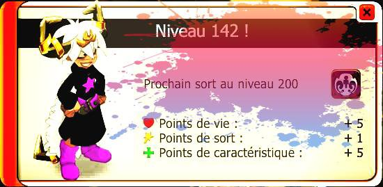 Résultat du week end double xp & drop !