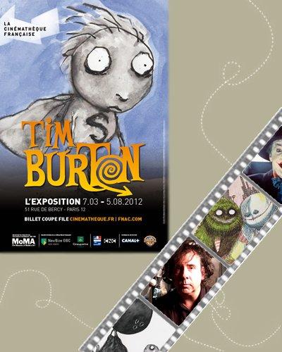 Exposition : Tim Burton