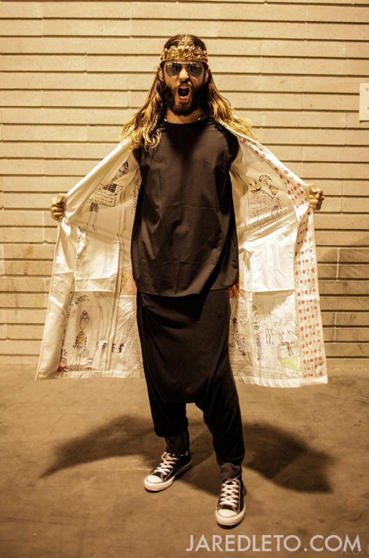 OUTFIT OF THE NIGHT • TURIN, ITALY- Jared Leto