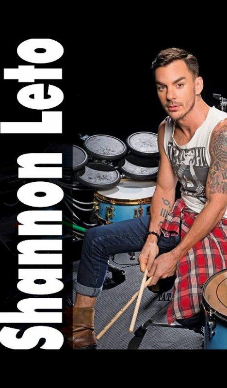 Août 2014 Modern Drummer- Shannon Leto