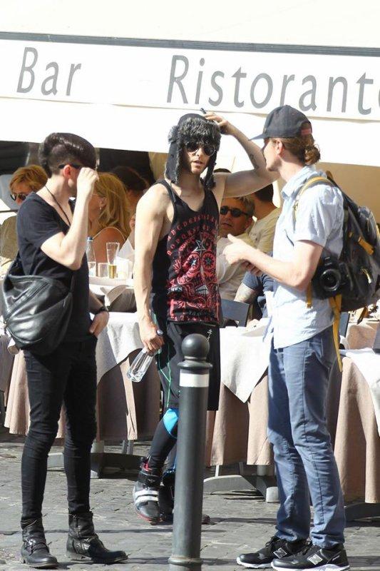 Jared à Rome 11 Mai 2015
