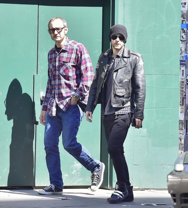 Jared et Terry à New York 14 Mai 2015