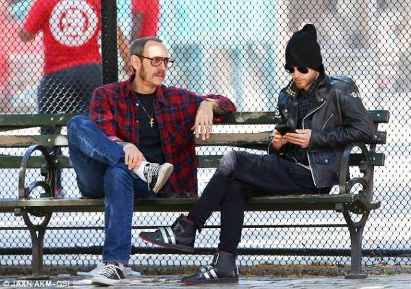 Jared et Terry à New York 14 Mai 2015