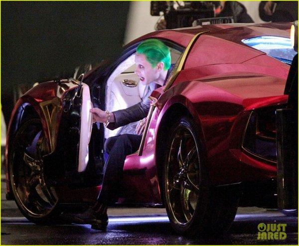 Premières photos du tournage de Jared en Joker