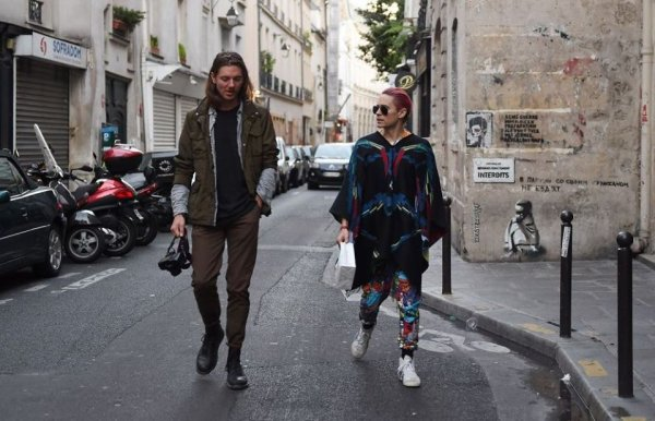 Jared & Robert à Paris 2 Octobre 2015
