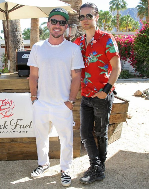 Jared et Shannon Coachella Avril 2016