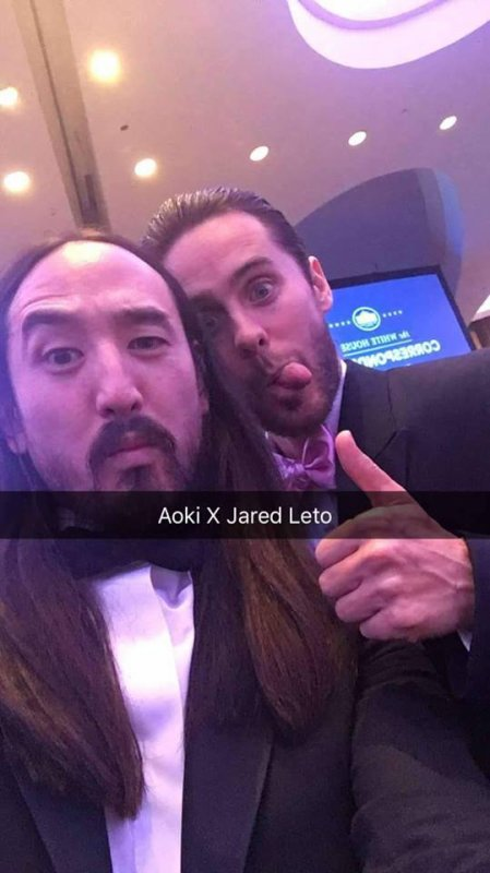 Jared Leto at the White House Correspondent's Association Dinner