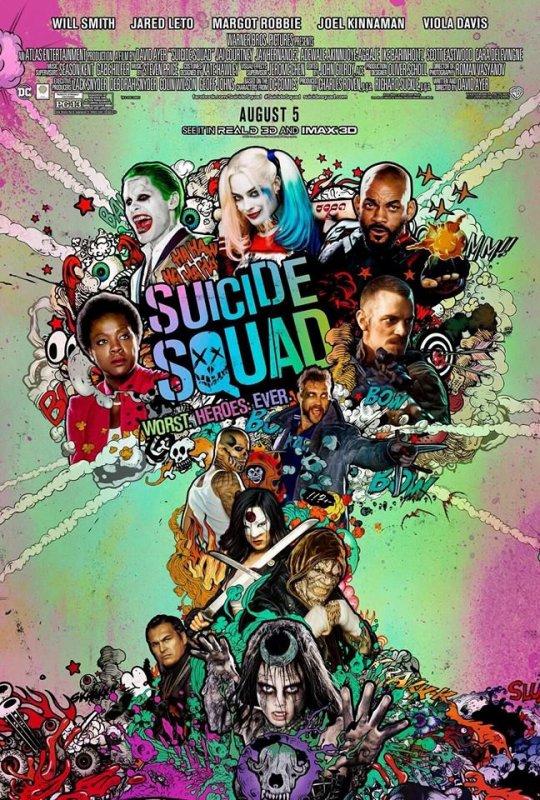 Nouvelles affiches et photos du film Suicide Squad