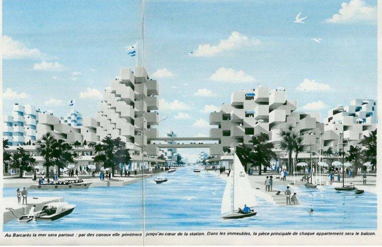 Participation l 39 am nagement de la station touristique barcares leucate 1963 1970 - Bus perpignan port leucate ...