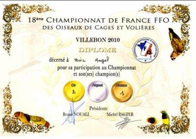 Resultats FFO Villebon
