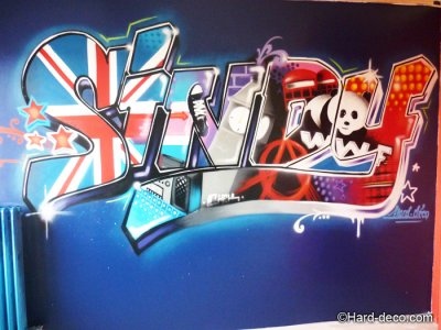 articles de harddeco tagg s stickers graffiti d coration graffiti graffeurs professionnels. Black Bedroom Furniture Sets. Home Design Ideas