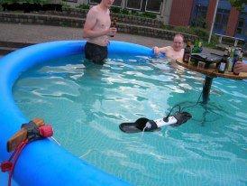 qui vx faire la fête electricité +eau piscine