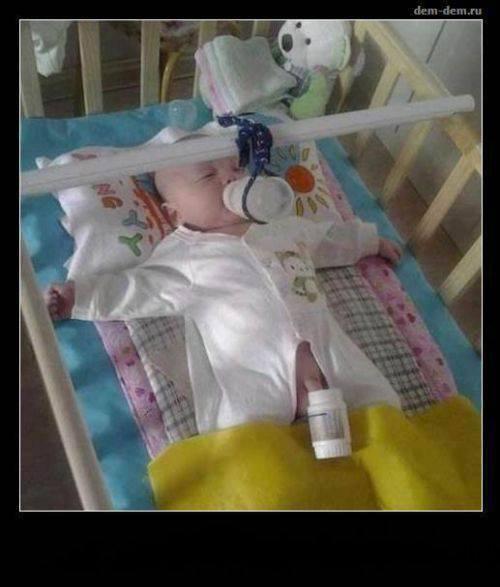 pour lé man qui ont  2 bébé la solution