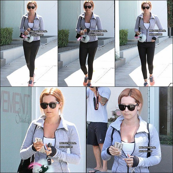 03/08/15: Ashley a été photographiée à West Hollywood.
