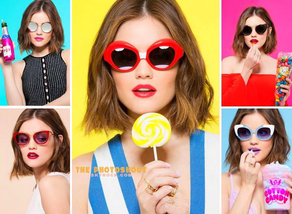 Lucy Hale pour Cosmopolitan de Mai 2016
